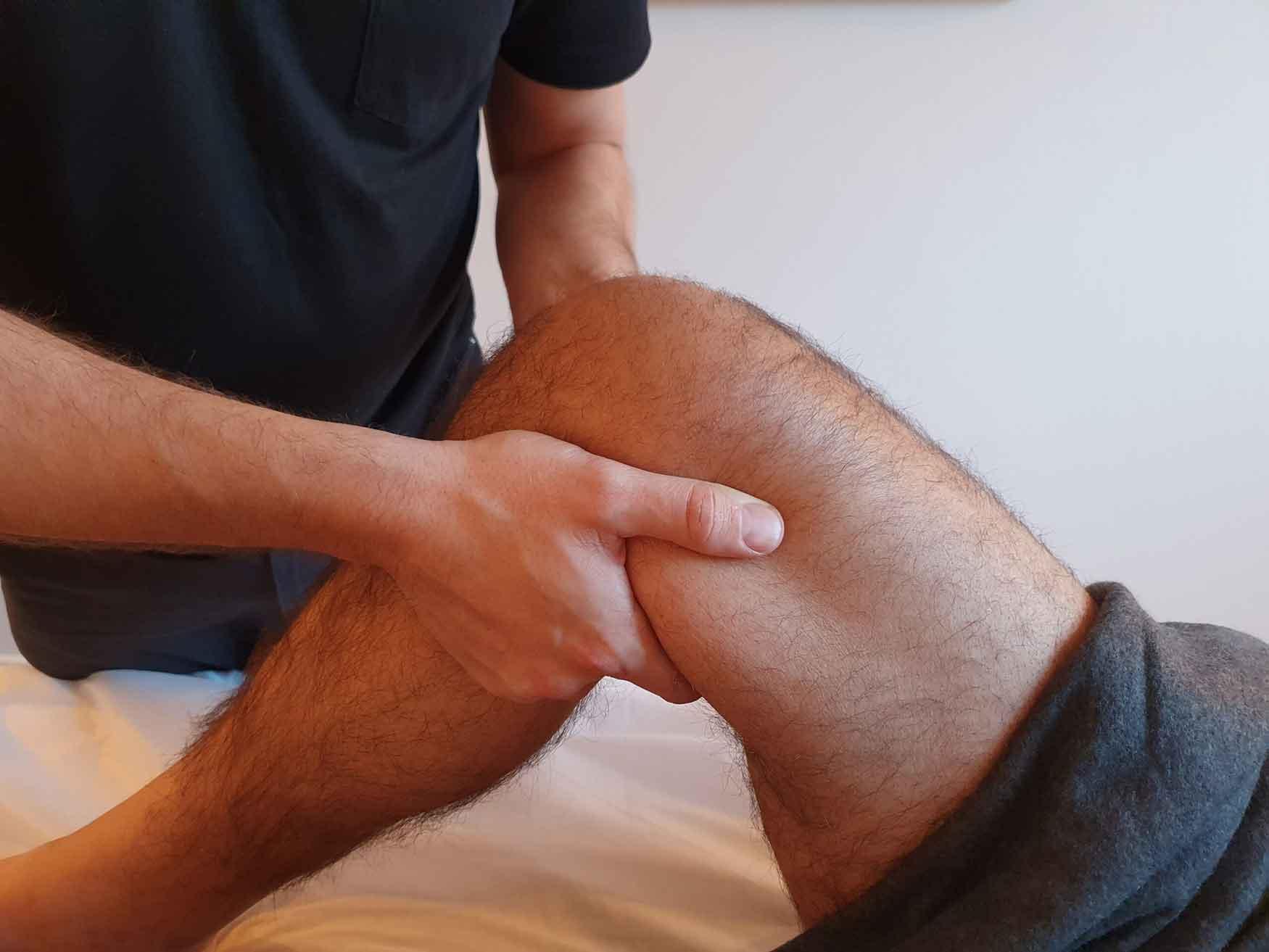 Hvis du går og har ondt i knæet så få en effektiv behandling med Body SDS kropsterapi